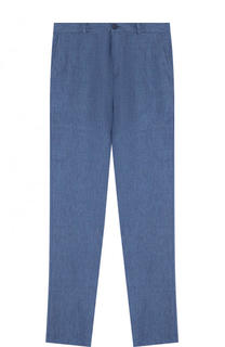 Льняные брюки Dal Lago