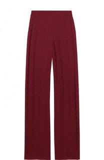 Расклешенные брюки фактурной вязки M Missoni