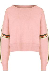 Вязаный пуловер свободного кроя с круглым вырезом Isabel Marant Etoile