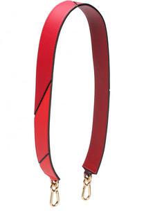 Кожаный ремень для сумки Loewe