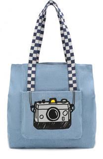 Текстильная сумка с принтом Stella McCartney