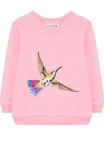 Свитшот с вышивкой Birdie Flashin
