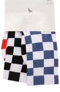 Комплект из трех пар носков Stella McCartney
