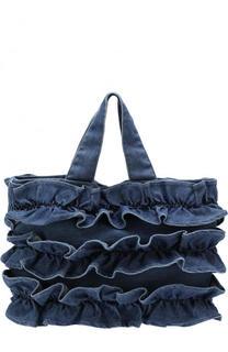 текстильная сумка с оборками Il Gufo