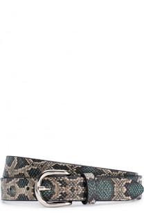 Кожаный ремень с металлической пряжкой Isabel Marant Etoile
