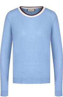 Кашемировый пуловер с круглым вырезом Paul&Joe Paul&Joe