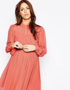 Платье бэби-долл для будущих мам ASOS Maternity - Оранжевый