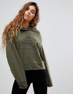 Худи с логотипом Cheap Monday Attract - Зеленый