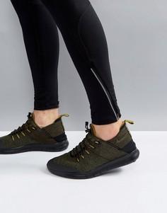Кроссовки цвета хаки Nike Running Free Run CMTR 2017 AA2430-002 - Черный