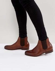 Светло-коричневые кожаные ботинки челси ALDO Ocenadda - Рыжий