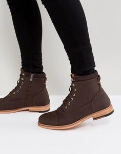 Коричневые ботинки на шнуровке Call It Spring Rosciolo - Коричневый