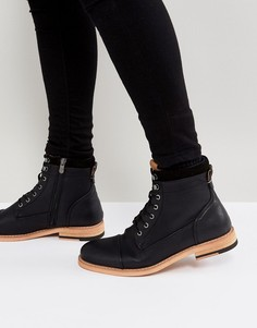 Черные ботинки на шнуровке Call It Spring - Черный