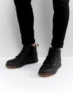 Ботинки с 6 парами люверсов Dr Martens - Черный