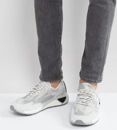 Трикотажные беговые кроссовки Diesel SKB - Серый