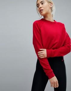 Красный укороченный свитшот Nike Training - Красный