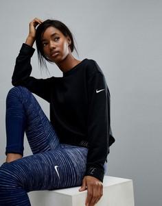Черный свитшот с круглым вырезом Nike Training - Черный