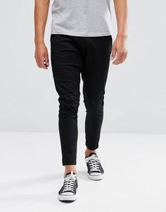 Однотонные брюки Just Junkies - Черный