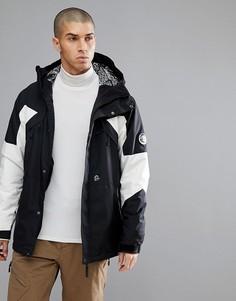 Черно-белая горнолыжная куртка ONeill Reissue 91 Extreme - Черный O`Neill