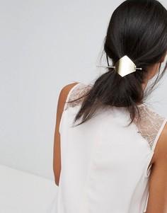 Заколка-ромб для волос со шпилькой Orelia - Золотой
