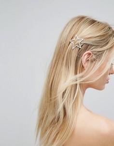 Заколка для волос со звездами Orelia - Золотой