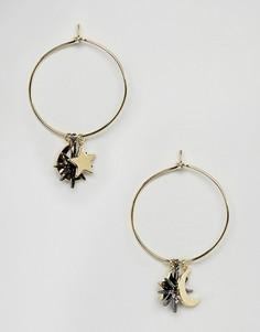 Cерьги-кольца Orelia - Золотой
