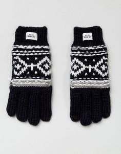 Вязаные перчатки Esprit - Черный