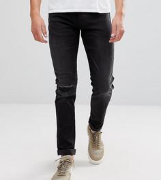 Узкие джинсы Replay Hyperflex Anbass - Черный