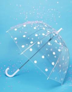 Зонт в белый горошек Kate Spade - Мульти