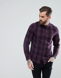 Рубашка на пуговицах Lee - Фиолетовый