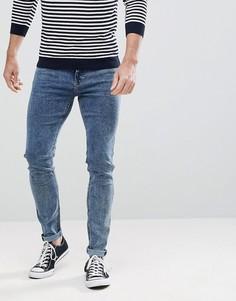 Синие джинсы скинни Lee Malone Power - Синий