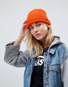 Оранжевая шапка-бини Vans Classic - Красный