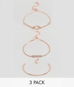 Набор тонких браслетов ALDO - Серебряный