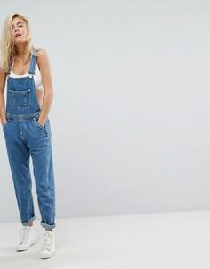 Джинсовый комбинезон классического кроя Tommy Jeans - Синий