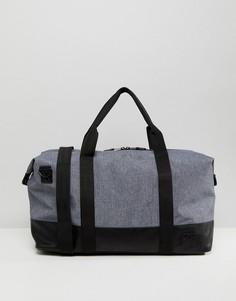 Серая фактурная сумка ASOS - Серый