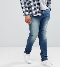 Синие джинсы скинни плотностью 12,5 унции ASOS PLUS - Синий