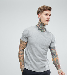 Серая меланжевая футболка Nudie Jeans Co Kurt - Серый