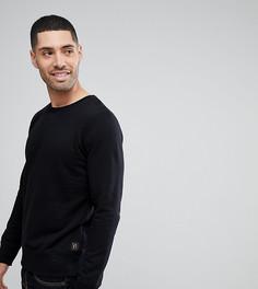 Черный свитшот Nudie Jeans Co - Черный