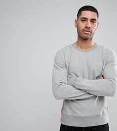 Серый меланжевый свитшот Nudie Jeans Co - Серый