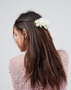 Заколка для волос с цветочной отделкой ASOS Occasion - Мульти