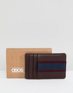 Визитница (бордовый/темно-синий) ASOS - Красный