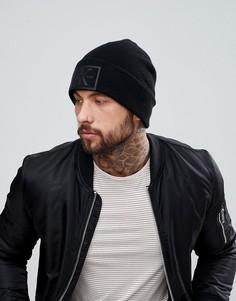 Шапка-бини с логотипом Calvin Klein Jeans - Черный