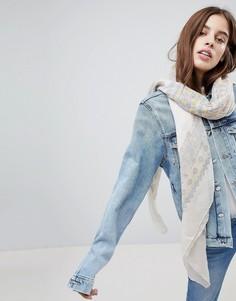 Легкий шарф Ichi - Кремовый