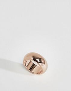 Широкое кольцо ограниченной серии - Медный Asos