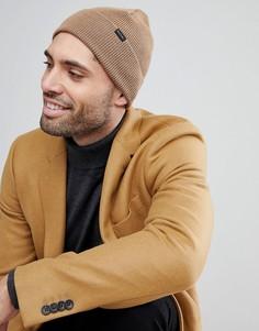 Светло-коричневая шерстяная шапка-бини PS Paul Smith - Рыжий
