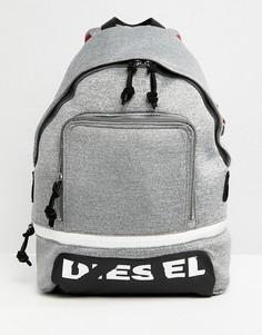 Рюкзак с логотипом Diesel - Серый