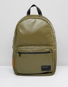Рюкзак цвета хаки с логотипом Diesel - Зеленый