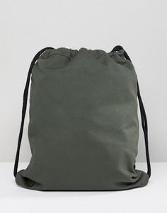 Парусиновая сумка цвета хаки Mi-Pac - Зеленый