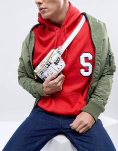 Сумка-пояс с винтажным принтом в стиле комиксов Mi-Pac x Mr.Men - Мульти
