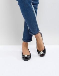 Черные туфли Vivienne Westwood For Melissa Ultragirl - Черный