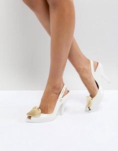 Белые туфли на каблуке Vivienne Westwood For Melissa - Белый
